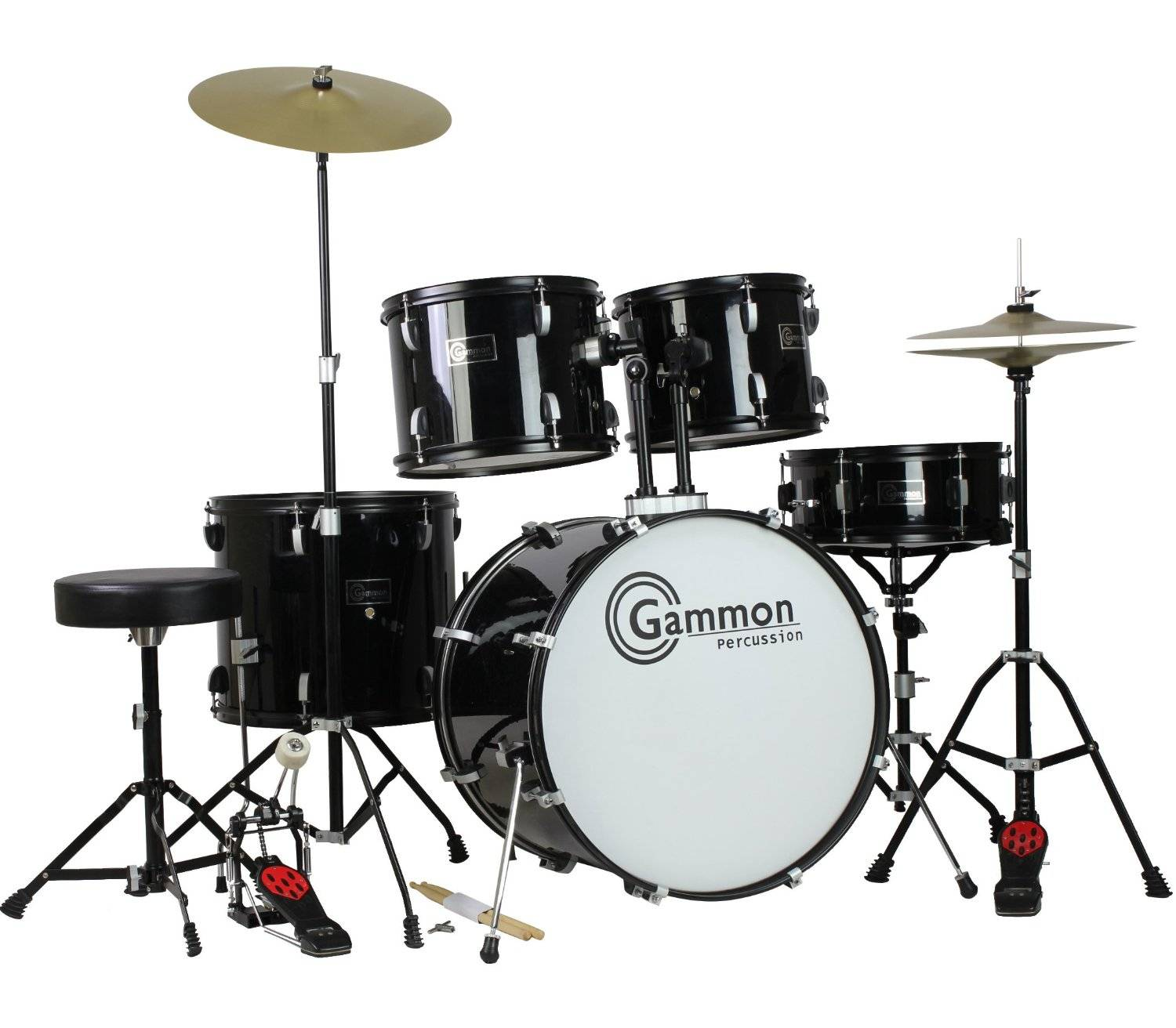 Gammon full size drum set