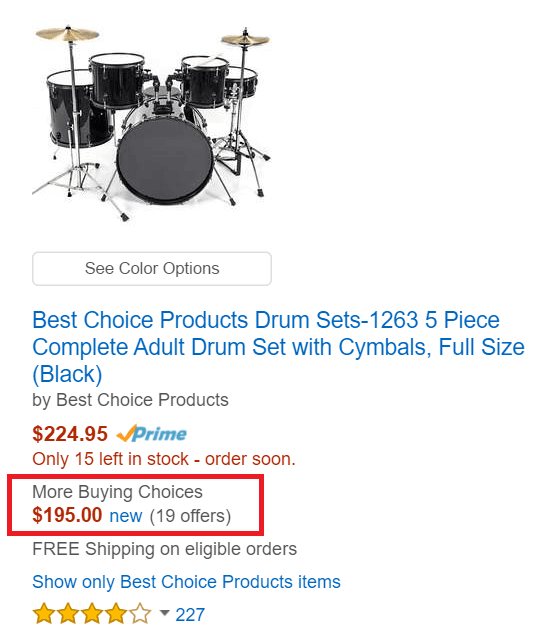 discount drum sets