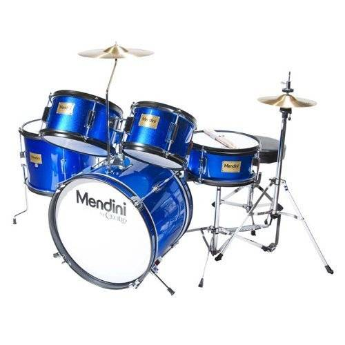 Cheap drum sets can look like this