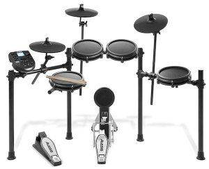 The Alesis Nitro Mesh is the second best electronic drum set.