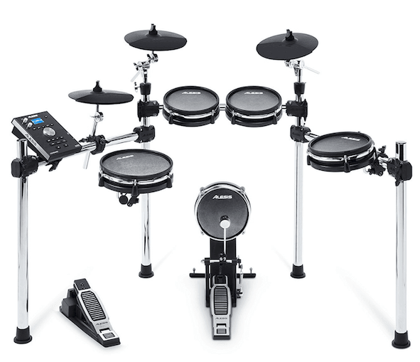The Alesis Command is the 7th best electronic drumset in this article.