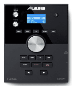 The Alesis Forge Drum module is pro grade.