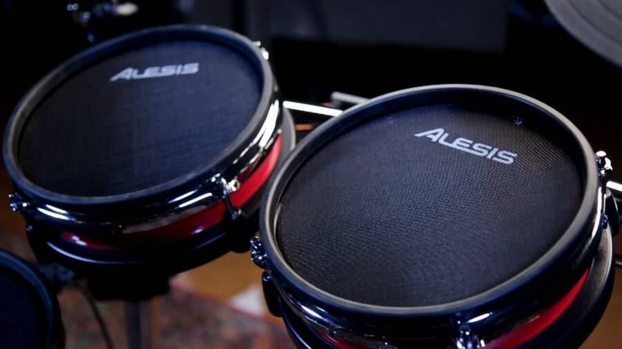 Alesis Strike Pro Review: the pads are huge on this kit