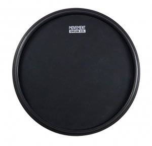 "12 Inch/"" gum rubber drum large acoustic New RealFeel by Evans practice Pad"