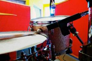 Best drum mic kits can be set up like this