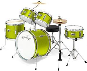 Ashthorpe 5-Piece Complete Kid's Junior Drum Set
