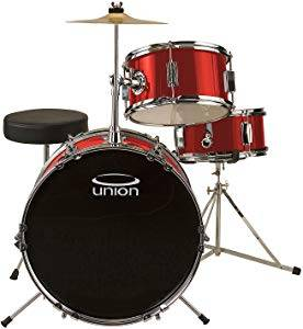 Union 3-Piece Junior Drum Set