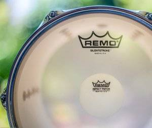 The Gretsch Catalina Maple review talks about Remo drum heads.