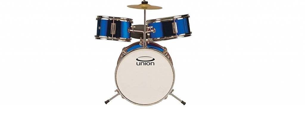 Union DBJ3067 3-Piece Toy Drum Set with Cymbal and Throne
