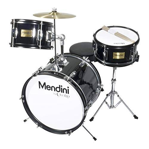 Mendini MJDS-3-BK Drum Set