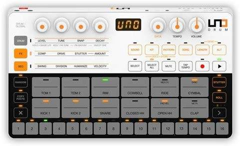 IK Multimediea UNO Drum Portable Analog / PCM Drum Machine