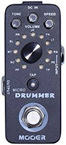 Mooer Audio Micro Drummer Digital Drum Machine